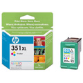 HP 351XL Tri-Colour High Capacity Original Ink Cartridge with Vivera ink (CB338EE)