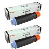 Canon C-EVX11 Black Original Laser Toner Cartridge Twin Pack
