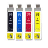 999inks Compatible Multipack Epson T2991/94 1 Full Set Inkjet Printer Cartridges