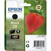 Epson 29 (T29814010) Black Original Claria Home Standard Capacity Ink Cartridge (Strawberry)