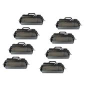 999inks Compatible Eight Pack Lexmark T654X11E Black Extra High Capacity Laser Toner Cartridges