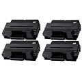 999inks Compatible Quad Pack Samsung MLT-D205E Black Laser Toner Cartridges