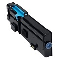 999inks Compatible Cyan Dell 593-BBBT (TW3NN) High Capacity Laser Toner Cartridge