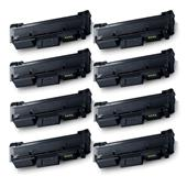 Compatible Eight Pack Samsung MLT-D116S Black Laser Toner Cartridges