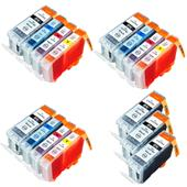 Compatible Multipack Canon BCI-3eK and BCI-6C/M/Y 3 Full Sets + 3 FREE Black Inkjet Printer Cartridges
