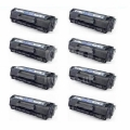Compatible Eight Pack Brother TN2000 Black Laser Toner Cartridges