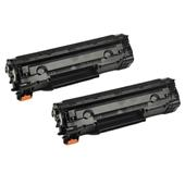 999inks Compatible Twin Pack Canon 726 Black Laser Toner Cartridges