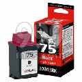 Lexmark No. 75 Black Original High Yield Ink Cartridge