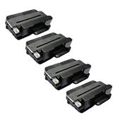 Compatible Quad Pack Xerox 106R02311 Black Laser Toner Cartridges