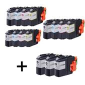Compatible Multipack Brother LC223 3 Full Sets + 3 FREE Black Inkjet Printer Cartridges