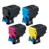 999inks Compatible Multipack Konica Minolta TNP-51K/C/M/Y 1 Full Set Laser Toner Cartridges