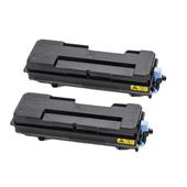 Compatible Twin Pack Kyocera TK-7300 Black Laser Toner Cartridges