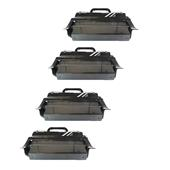 999inks Compatible Quad Pack Lexmark T654X11E Black Extra High Capacity Laser Toner Cartridges