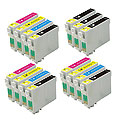 999inks Compatible Multipack Epson T0321/T0324 3 Full Sets + 3 FREE Black Inkjet Printer Cartridges