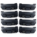 Compatible Eight Pack Samsung MLT-D116L Black Laser Toner Cartridges