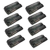 Compatible Eight Pack Canon FX2 Black Laser Toner Cartridges