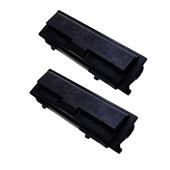 Compatible Twin Pack Kyocera TK-110 Black High Capacity Laser Toner Cartridges