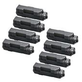 Compatible Eight Pack Kyocera TK-1170 Black Laser Toner Cartridges