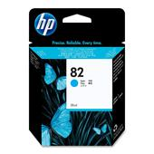 HP 82 Cyan Original Standard Capacity Ink Cartridge (28ml)