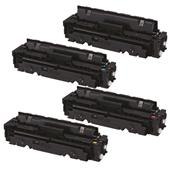 999inks Compatible Multipack Canon 046HBK/C/M/Y 1 Full Set Laser Toner Cartridges