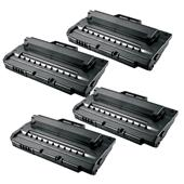 Compatible Quad Pack Samsung SCX-4720D5 Black Laser Toner Cartridges