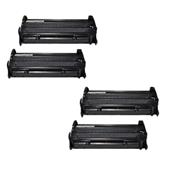 Compatible Quad Pack HP 26A Black Standard Capacity Laser Toner Cartridges