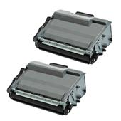 999inks Compatible Twin Pack Brother TN3520 Black High Capacity Laser Toner Cartridges