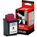 Lexmark No. 71 Black Original Moderate Use Ink Cartridge