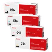 Canon 046 Full Set Original Standard Capacity Laser Toner Cartridges