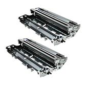 999inks Compatible Twin Pack Brother TN7600XL Black Extra High Capacity Toner Cartridges