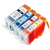 Compatible Multipack Canon BCI-3eK and BCI-6C/M/Y 1 Full Set Inkjet Printer Cartridges