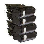 999inks Compatible Quad Pack Dell 593-11050 Black High Capacity Laser Toner Cartridges