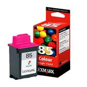 Lexmark No. 85 Colour High Yield Original Ink Cartridge