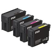 Epson T40C1/T40C4 Full Set Original Standard Capacity Inkjet Printer Cartridges