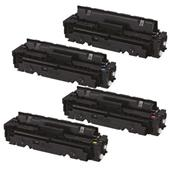 999inks Compatible Multipack Canon 054HBK/Y 1 Full Set High Capacity Laser Toner Cartridges