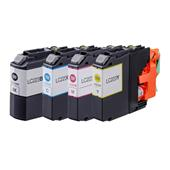 Compatible Multipack Brother LC223 1 Full Set Inkjet Printer Cartridges