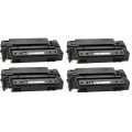 Compatible Quad Pack HP 11X High Capacity Laser Toner Cartridges