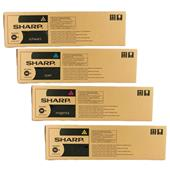Sharp MX61GTBA/YA Full Set Original Laser Toner Cartridges
