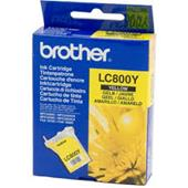 Brother LC800Y Yellow Original Printer Ink Cartridge (LC-800Y)