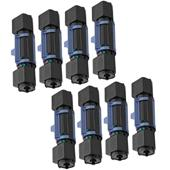 Compatible Eight Pack Brother TN100 Black Laser Toner Cartridges
