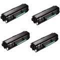 999inks Compatible Quad Pack Dell 593-11056 Black Laser Toner Cartridges