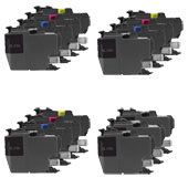 Compatible Multipack Brother LC3219XL 3 Full Sets + 3 FREE Black Inkjet Printer Cartridges
