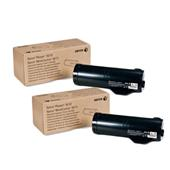 Xerox 106R02722 Black Original High Capacity Laser Toner Cartridge Twin Pack