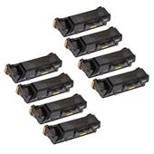 Compatible Eight Pack Xerox 106R03620 Black Standard Capacity Laser Toner Cartridges
