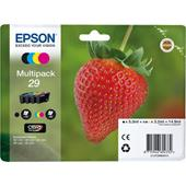 Epson 29 (T29864010) Original Claria Home Standard Capacity Multipack (Strawberry)