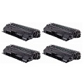 999inks Compatible Quad Pack HP 14X Laser Toner Cartridges