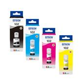 Epson 102 Full Set Original Ink Cartidges