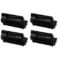 999inks Compatible Quad Pack Oki 09004462 Black Laser Toner Cartridges