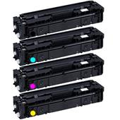 999inks Compatible Multipack Canon 045BK/C/M/Y 1 Full Set Standard Capacity Laser Toner Cartridges