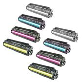 999inks Compatible Multipack HP 657X 2 Full Sets High Capacity Laser Toner Cartridges